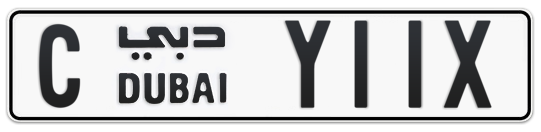 C Y11X - Plate numbers for sale in Dubai