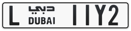 L 11Y2 - Plate numbers for sale in Dubai