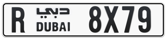 R 8X79 - Plate numbers for sale in Dubai