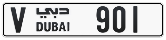 V 901 - Plate numbers for sale in Dubai